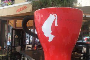 Kafe u centru Beograda