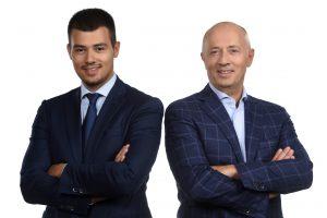 Miodrad Kostić i Aleksandar Kostić